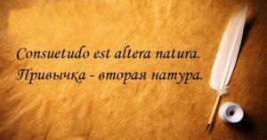 Цитаты на латыни