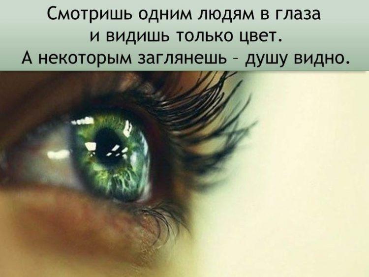 цитаты к фотографии глаза интернете они заводят